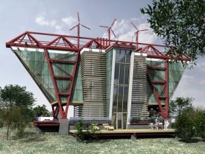 Архитектурное решение жилых домов