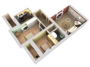 Общее архитектурно-планировочное решение жилых домов