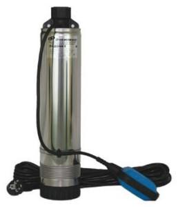 Погружной центробежный насос с поплавковым выключателем