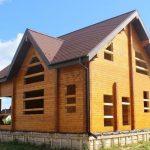 Этапы строительства дома из сухого профилированного бруса