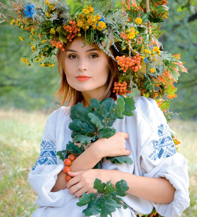 Калина - символ Украины