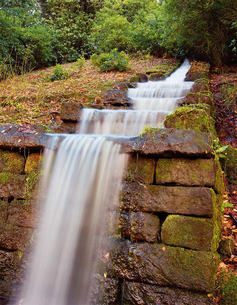 Водный каскад в Оксфордшире