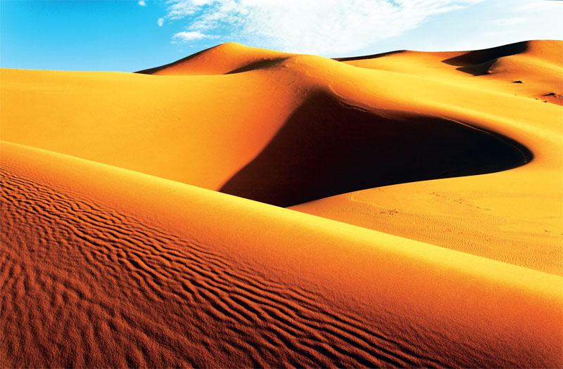 Пескы пустыни