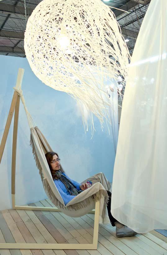 Инсталляция «Воздух», дизайнер Юрий Цегла