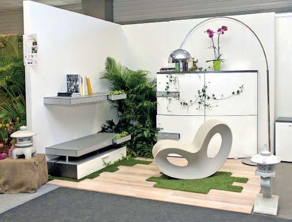 Инсталляция «Luxury&Neture», дизайнеры Анна Матюша и Роман Чечуга