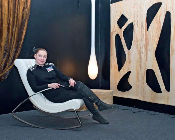 Инсталляция «Тайна третьей планеты», архитектор Виктория Таран