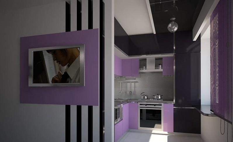 Кухня-студио