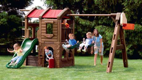 Детская игровая площадка (Фото: ООО « КиндерЛенд-Украина»)