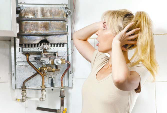Главная проблема накопительных водонагревателей — накипь на ТЭНе