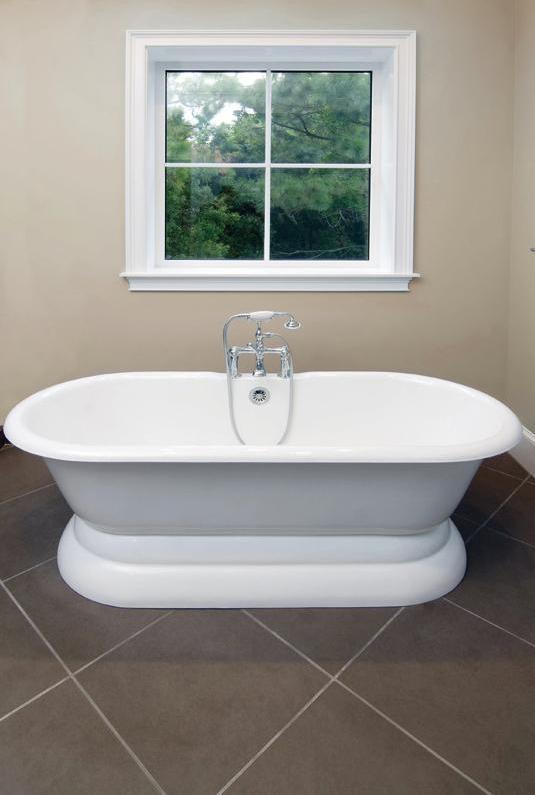 Стальная ванна выглядит презентабельно (Фото: DIVAPOR)