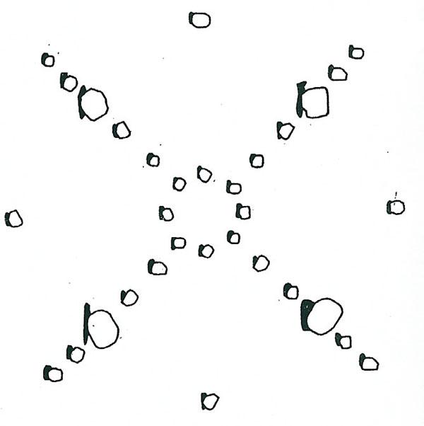 Космический каменный круг накопления силы для Металла
