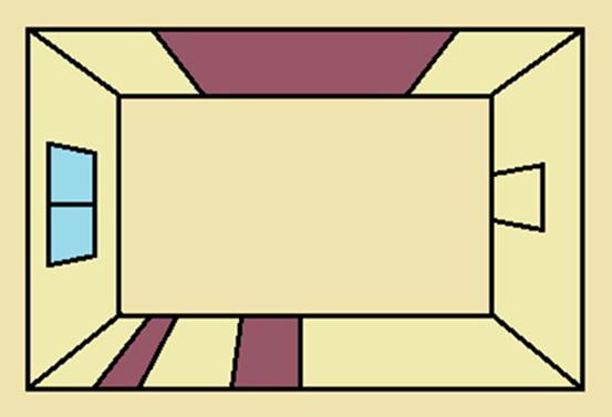 Вертикальное асимметричное чередование полос