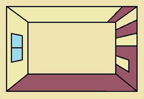 Вертикальное чередование полос