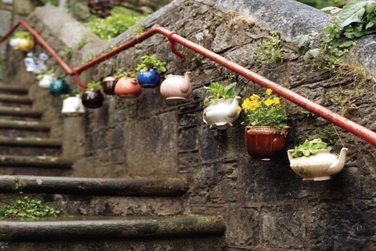 Креативные контейнеры для цветов