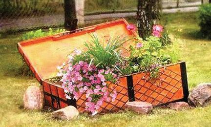 Идеи садового декора