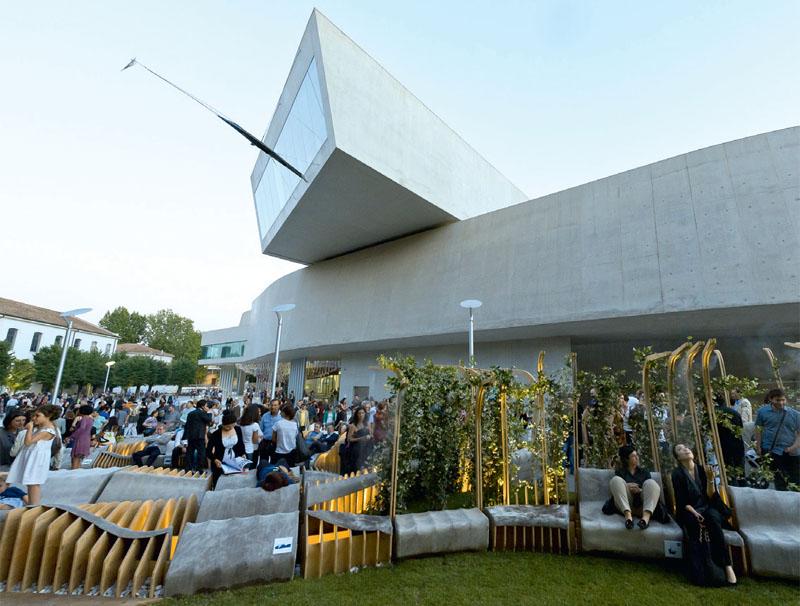 Инсталляция Unire/Unite от Urban Movement Design стала победителем конкурса молодых архитекторов YAP MAXXI 2012, организованного римским Музеем современного искусства в сотрудничестве с MoMA/MoMA PS 1