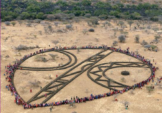 Эндрю Роджерс. Скульптура из цикла «Ритмы жизни» в Кении