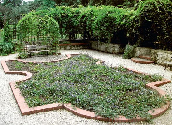 Утопленный сад Ботанического сада Варшавского Университета (Варшава, Польша) (Фото: Елена Павлова)