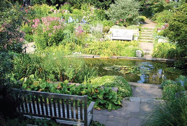 Утопленный сад Карла Форстера (Потсдам, Германия) (Фото: Елена Павлова)
