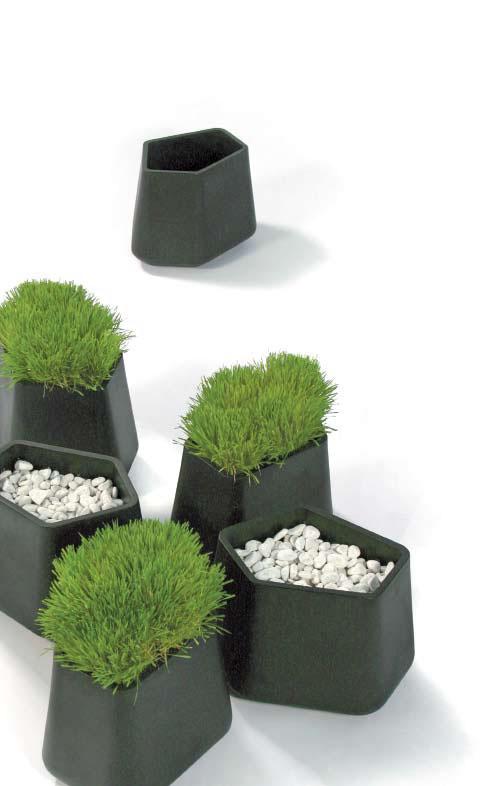 Садовые горшки Rock Garden Modular Planter. Алан Жиль для Qui est Paul