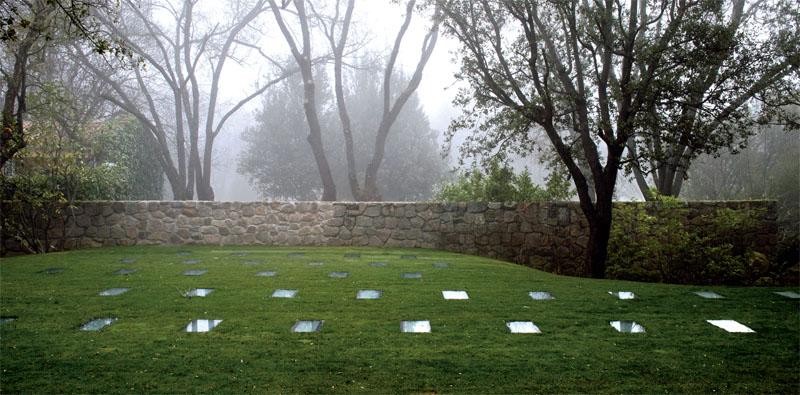 «Перекрестный сад» на территории художественного музея Пласидо Аранго, Мадрид (Испания). Бюро ElisaValero