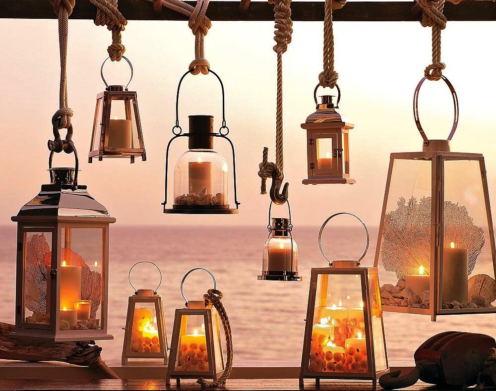 Светильник со свечами