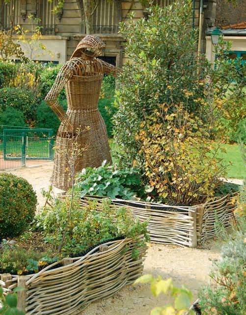 Планирование декоративного огорода