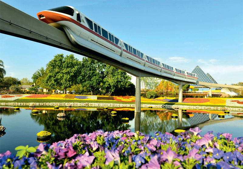 Сады на воде стали одной из главных тем ландшафтного фестиваля Epcot, проходившего весной на территории Walt Disney World Resort