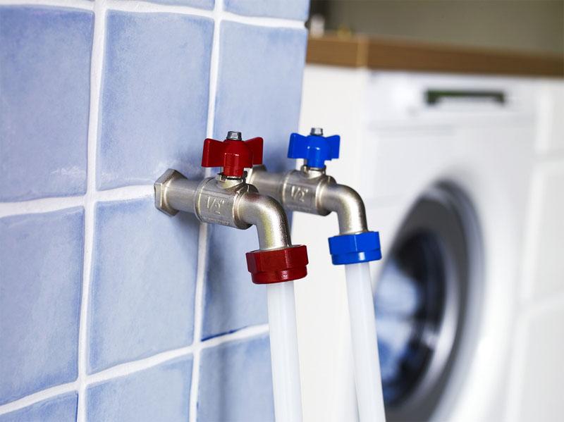 Подключение стиральной машинки к водоснабжению