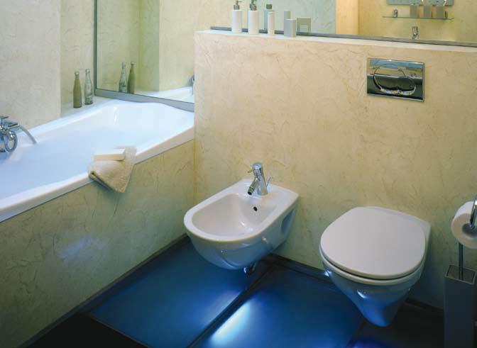 Двухкнопочная система слива экономит до 50 тыс. л воды в год на одну семью.