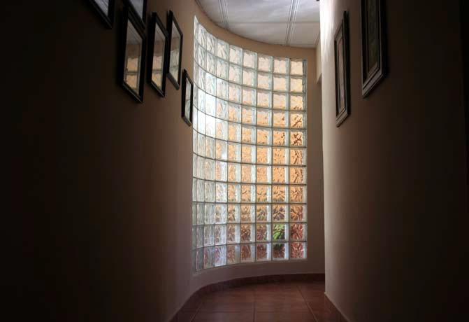 Окно из стеклоблока
