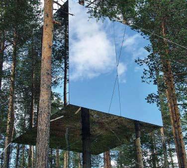 Проект treehotel, номер Mirrorcube