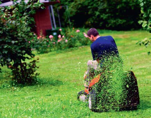 Газонокосилка для сада