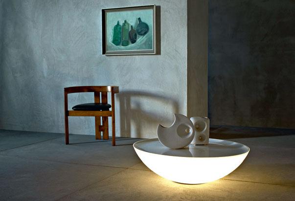Стол-светильник от Foscarini
