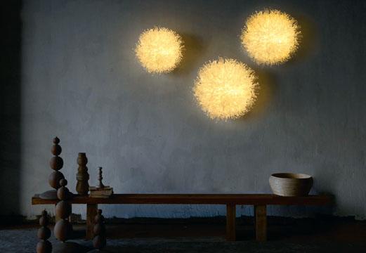 Лампы-анемоны от дизайнера Olivia d'Aboville