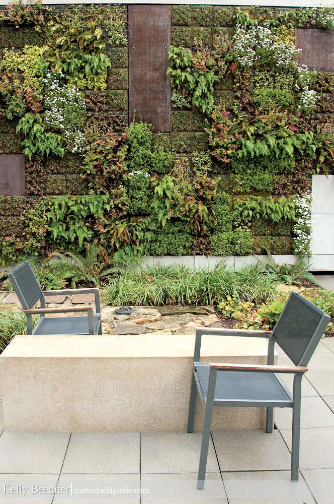 Сад на фасаде