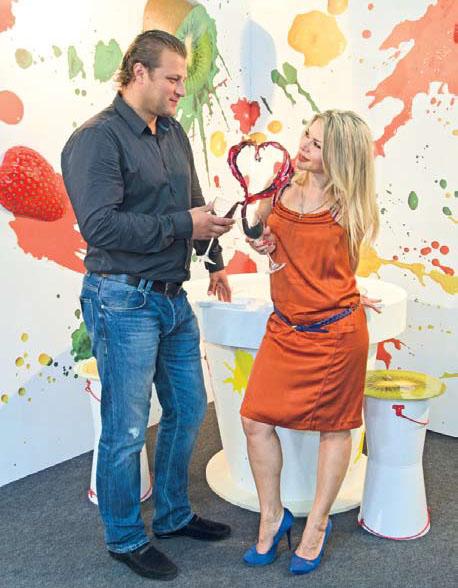 Инсталляция Вкус любви