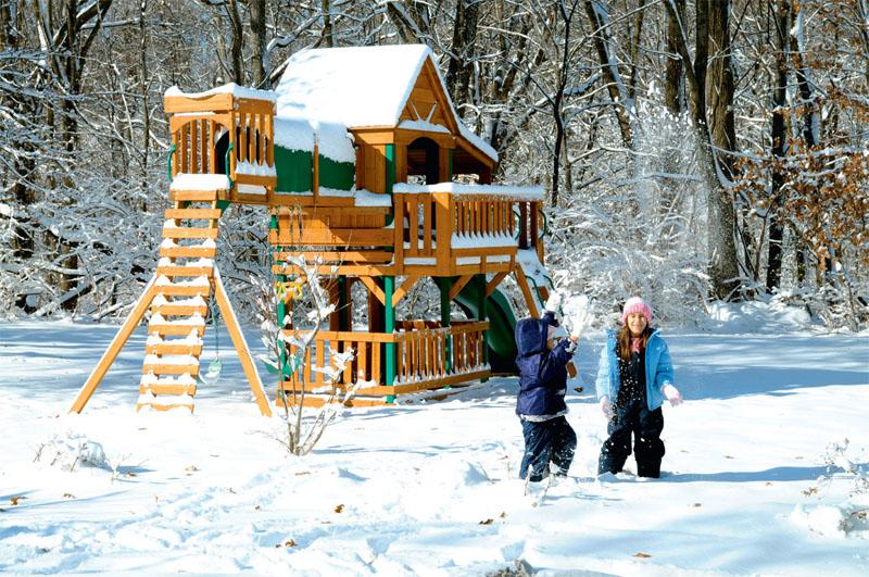 Площадки для детей в зимний период