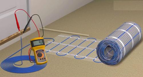 Как проверить электрический теплый пол