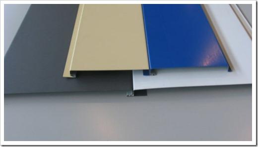 Два распространённых метода установки линеарных панелей
