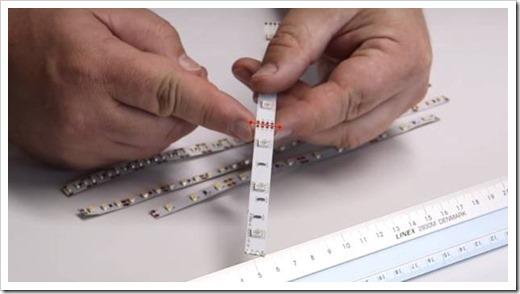 Инструменты, которые не следует использовать для нарезания светодиодной ленты