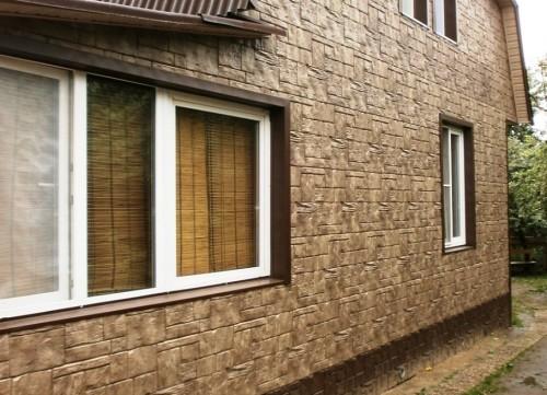 Виды фасадных панелей для наружной отделки дома