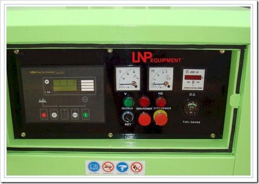 Дизель генератор с цифровой панелью управления