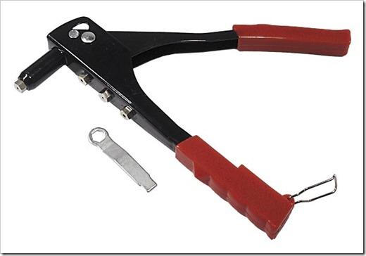 Специнструмент для выполнения клёпаного соединения