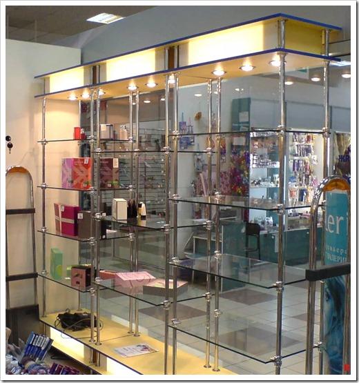 Продажи косметики в торговых центрах