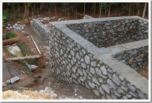 Методика организации фундамента на бутовом камне