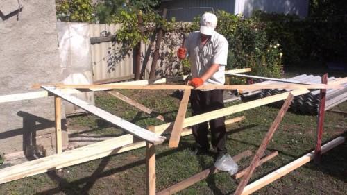 Как сделать строительные леса своими руками
