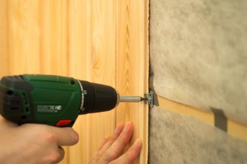 Как установить стеновые панели