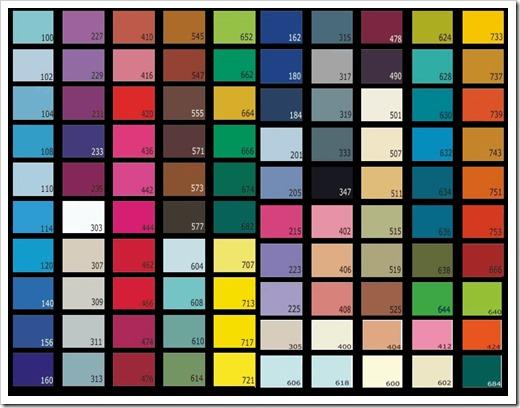цвета натяжного потолка