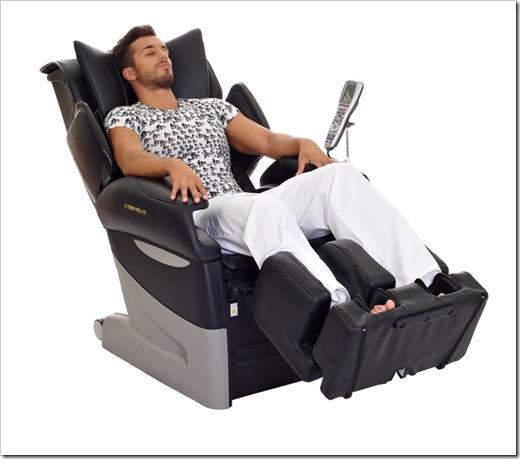 Массажные кресла класса «смарт»